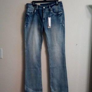Grace blue jeans
